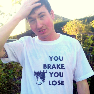 Phase9 You Brake. You Lose. T-shirt